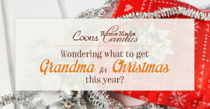 great christtmas gift for grandma is to buy toffee online from coons candy